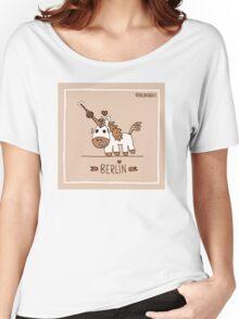 Berlin unicorn Women's Relaxed Fit T-Shirt
