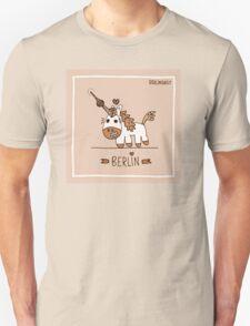 Berlin unicorn Unisex T-Shirt