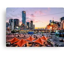 City Sunset Canvas Print