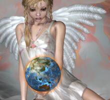 An Angel Weeps Sticker