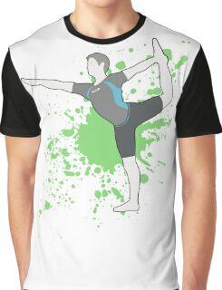 Wii Fit Trainer (Male Alt) - Super Smash Bros  Graphic T-Shirt