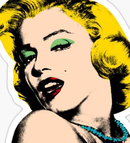marilyn  Sticker