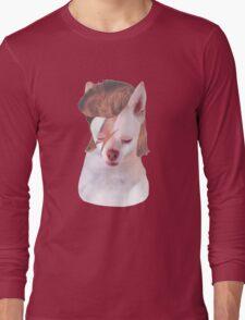 Ziggy Stardust Chihuahua Long Sleeve T-Shirt