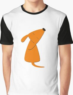 Orange doggy Graphic T-Shirt