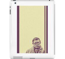 Sartre 02 iPad Case/Skin