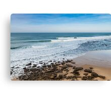 Seascape Ericeira Portugal Canvas Print