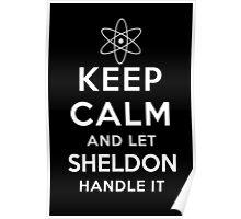 Let Sheldon Handle It T-shirt Hoodie Case BBT Fan Dr Cooper Poster