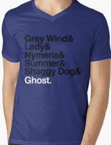 The Direwolves Mens V-Neck T-Shirt
