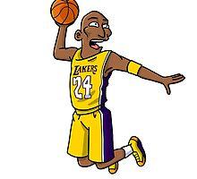 Kobe Bryant by ikitokoku