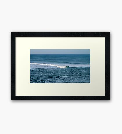 Atlantic ocean, Portugal Framed Print