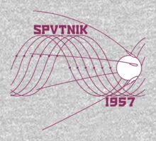 Sputnik 1 One Piece - Long Sleeve