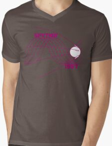 Sputnik 1 Mens V-Neck T-Shirt