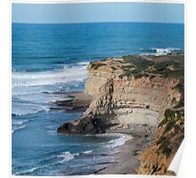 Portuguese Atlantic coast Poster