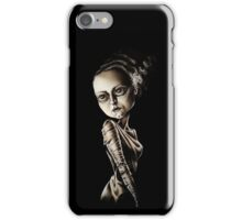 Low Brow Bride of Frankenstein iPhone Case/Skin