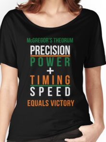 Conor McGregor's Theorem - UFC Women's Relaxed Fit T-Shirt