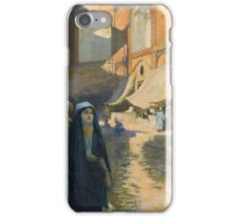 Edwin Lord Weeks AMERICAN ISFAHAN BAZAAR iPhone Case/Skin