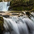 Janet's Foss Waterfall by David Lewins