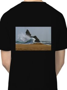 Sea, Rock,Sand.Philosophical erosion.. Classic T-Shirt