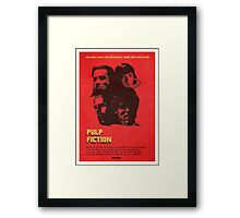 "Pulp Fiction - ""Grindhouse"" Framed Print"