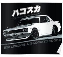 Nissan Skyline GT-R Hakosuka Poster