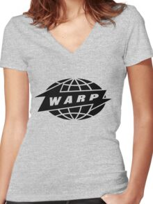 w rec 2 Women's Fitted V-Neck T-Shirt