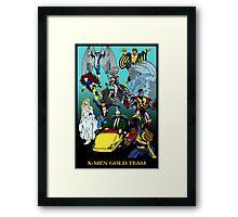 X-Men Gold Team Framed Print