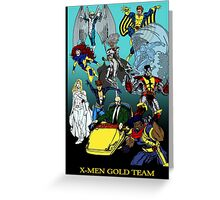 X-Men Gold Team Greeting Card