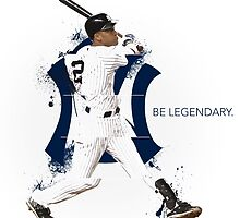 Derek Jeter Be Legendary by ikitokoku