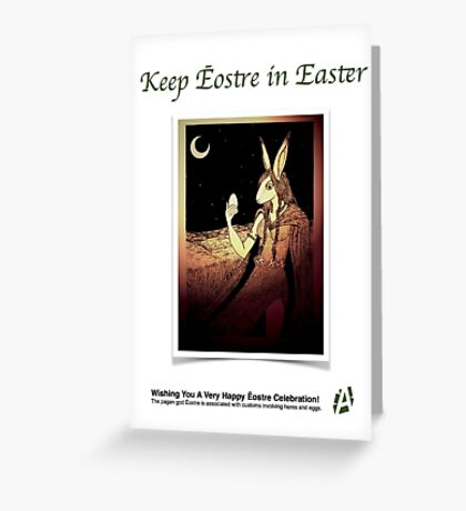 Ēostre Card Greeting Card