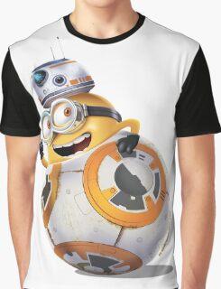 Minion BB-8 Graphic T-Shirt