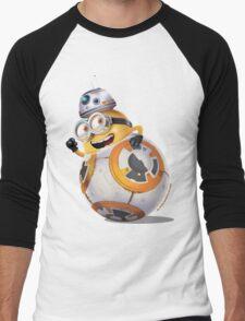Minion BB-8 Men's Baseball ¾ T-Shirt