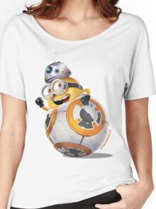 Minion BB-8 Women's Relaxed Fit T-Shirt