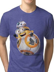 Minion BB-8 Tri-blend T-Shirt