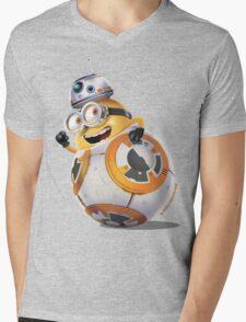 Minion BB-8 Mens V-Neck T-Shirt