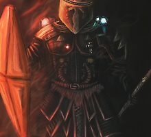 Interstellar Knight by Daniel Watts