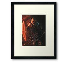 Interstellar Knight Framed Print