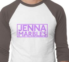 Jenna Marbles - YouTuber Men's Baseball ¾ T-Shirt