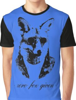 Zero fox given black Graphic T-Shirt