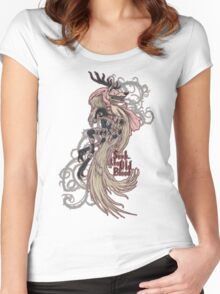 Vicar Amelia - Bloodborne Women's Fitted Scoop T-Shirt