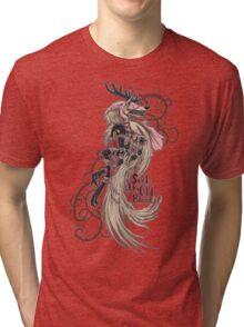 Vicar Amelia - Bloodborne Tri-blend T-Shirt