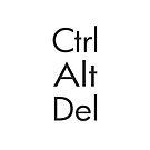 Ctrl Alt Del by robotplunger