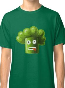 Stressed Out Funny Broccoli Classic T-Shirt
