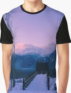 Winter Dawn Graphic T-Shirt
