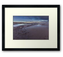 The Great Salt Lake in Utah Sunrise Framed Print