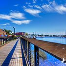 Boardwalk in Georgetown SC by TJ Baccari Photography