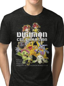 Digimon Celebration Tri-blend T-Shirt