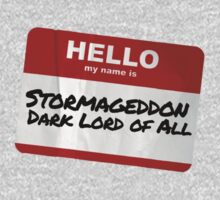Hello My Name Is Stormageddon One Piece - Long Sleeve