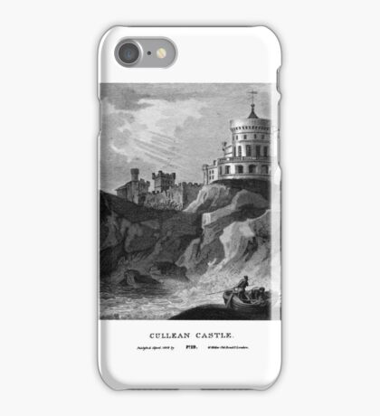 Scotia Depicta by by James Fittler - Cullean Castle - Etchings of towns, castles and scenery from Scotland in the early 19th century iPhone Case/Skin
