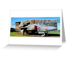 Buccaneer @ East Fortune.  Greeting Card