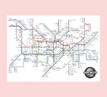 Tube Map as Film Genres One Piece - Short Sleeve